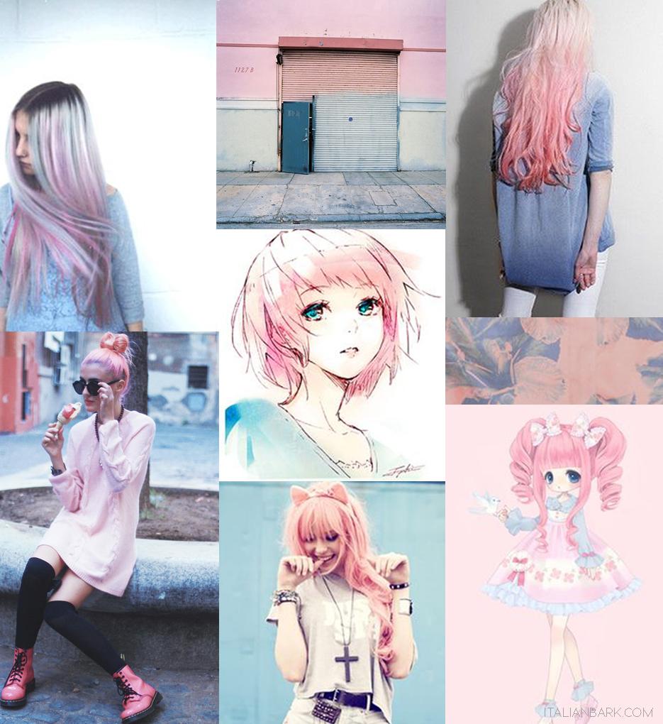 pantone-coloroftheyear2016-rosequarzserenity-moodboard- mangapunk - Copia