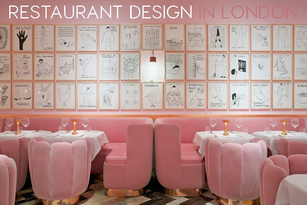 design restaurants   stunning restaurant design in rose quartz