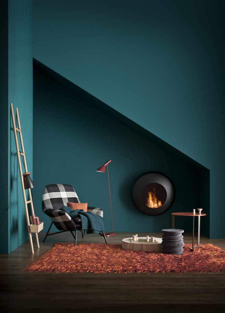 teal paint, teal walls, teal colour trend, teal wall paint, teal interiors