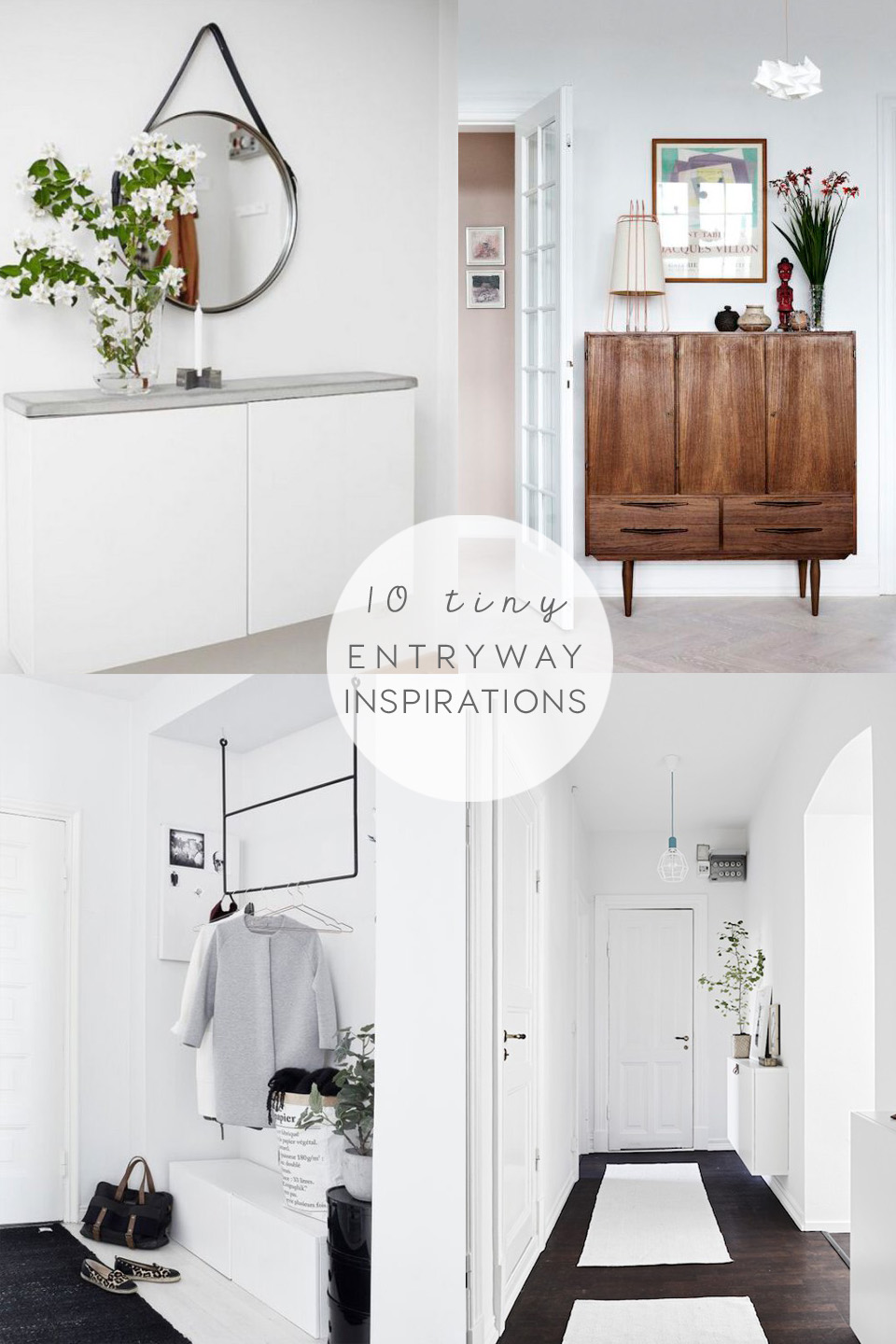 Tiny entryway ideas and inspirations | INTERIOR TIPS