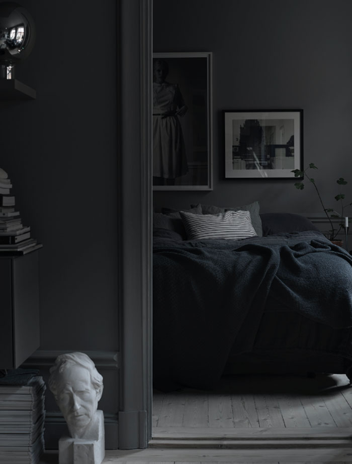 Black grey and dark interiors interior trends 2016 for All blacks interiors