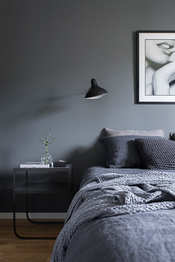 Interiors grey interior paint in a perfect scandi home - Interior paint ideas grey ...