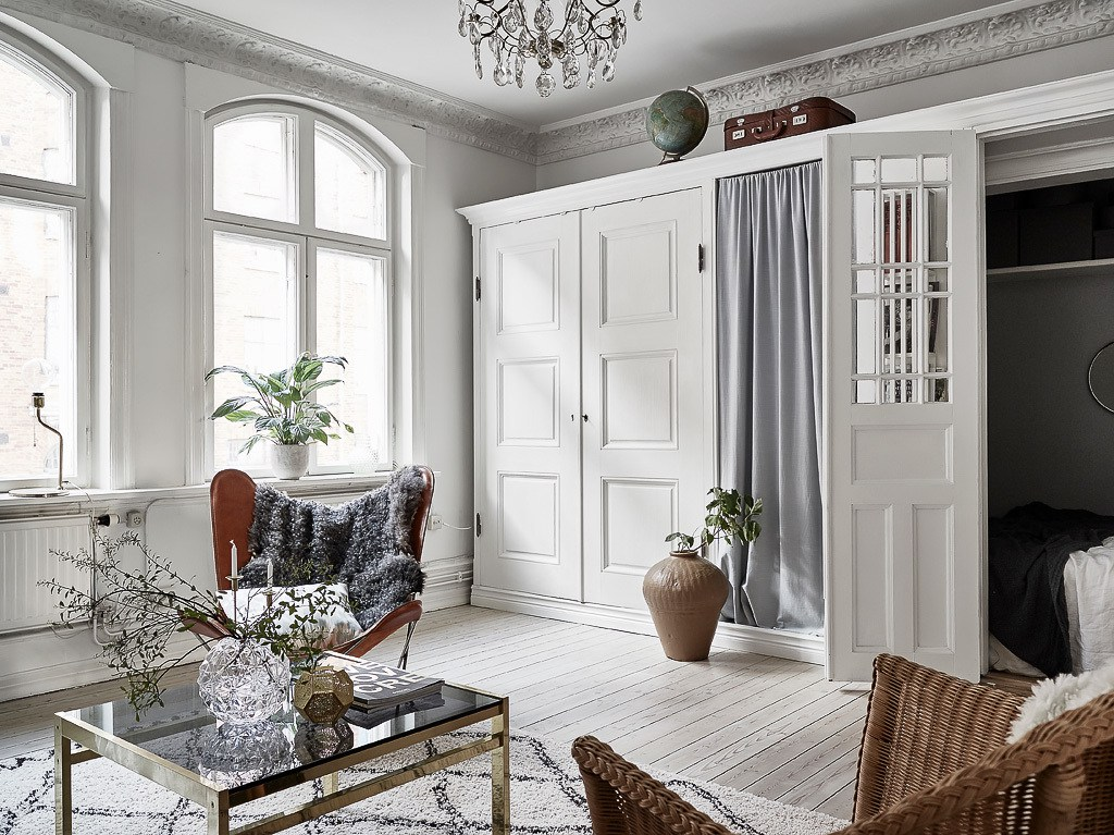 Home Tour Smart Small Bedroom Ideas In A Scandinavian Interior