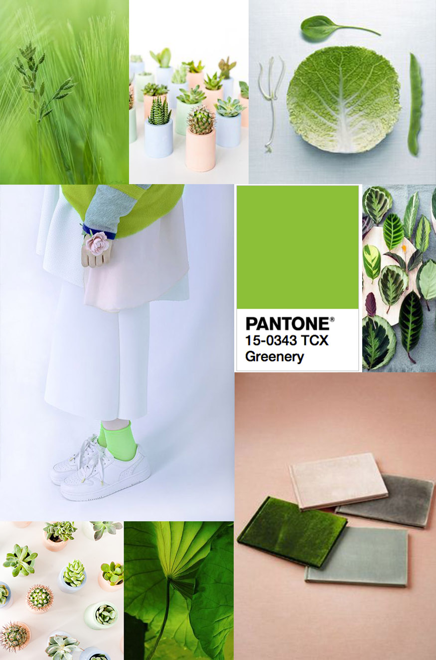Pantone 2017 color of the year pantone greenery in 7 - 2017 pantone view home interiors palettes ...