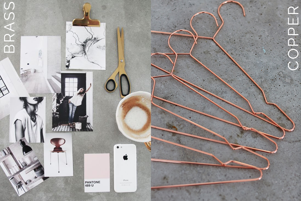 interior trends 2017, italianbark interior design blog, brass home decor, brass trend