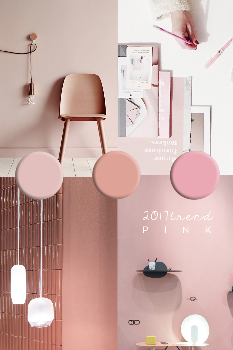 Hot Pink Interior Paint Color