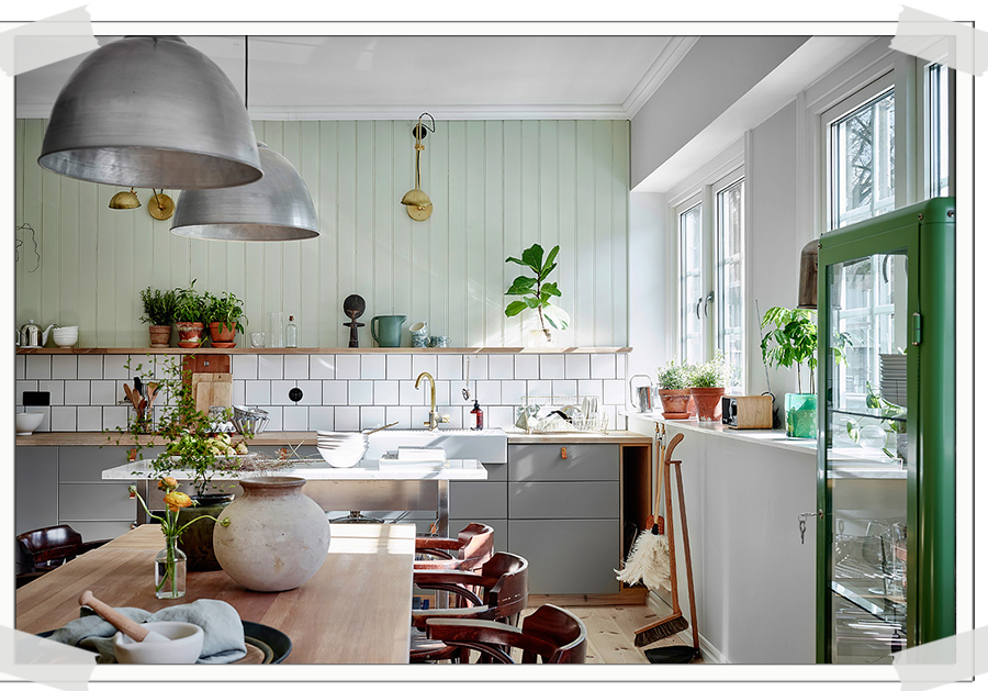 HOME TOUR | Neutrals And Mint In A Cozy Swedish Home