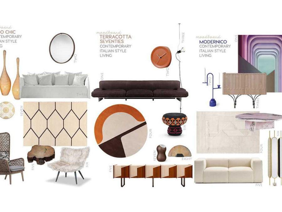 which are the new italian interior design trends at present