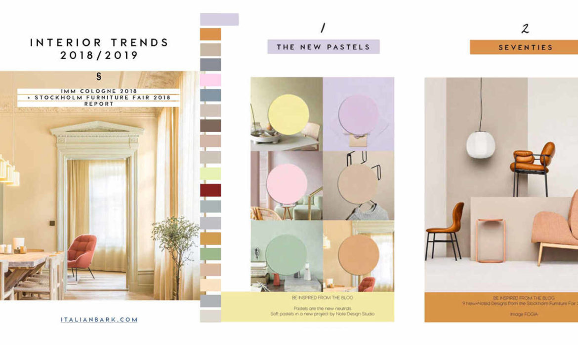 INTERIOR DESIGN TRENDS | The New 2018/2019 Downloadable Guide Is Online