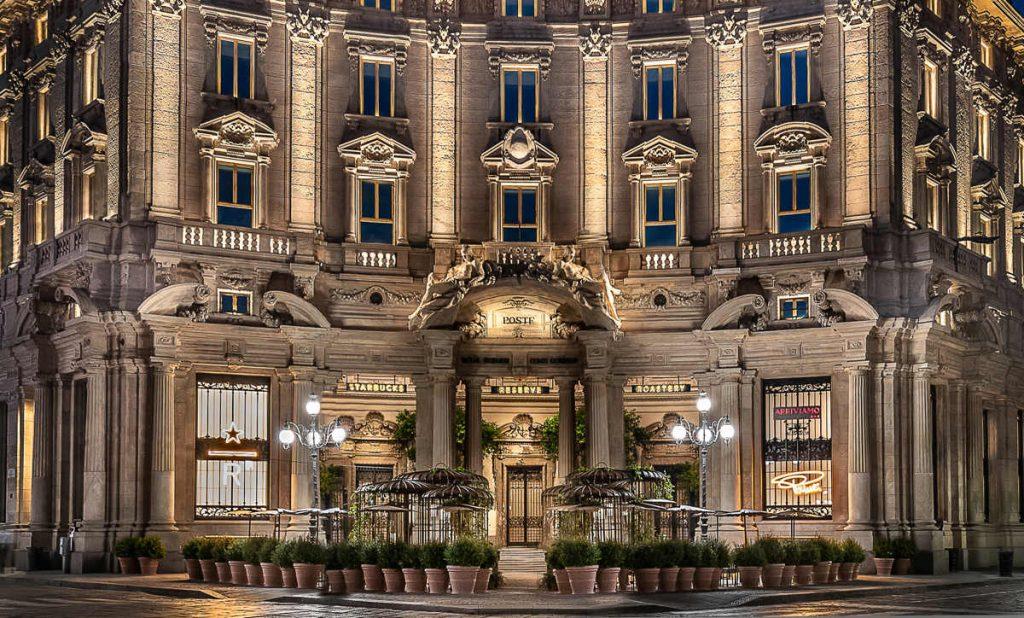 starbucks milan, starbucks opening in italy, italian interiors