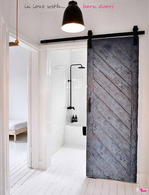 Barn Doors An Original Idea For Your Home Interior