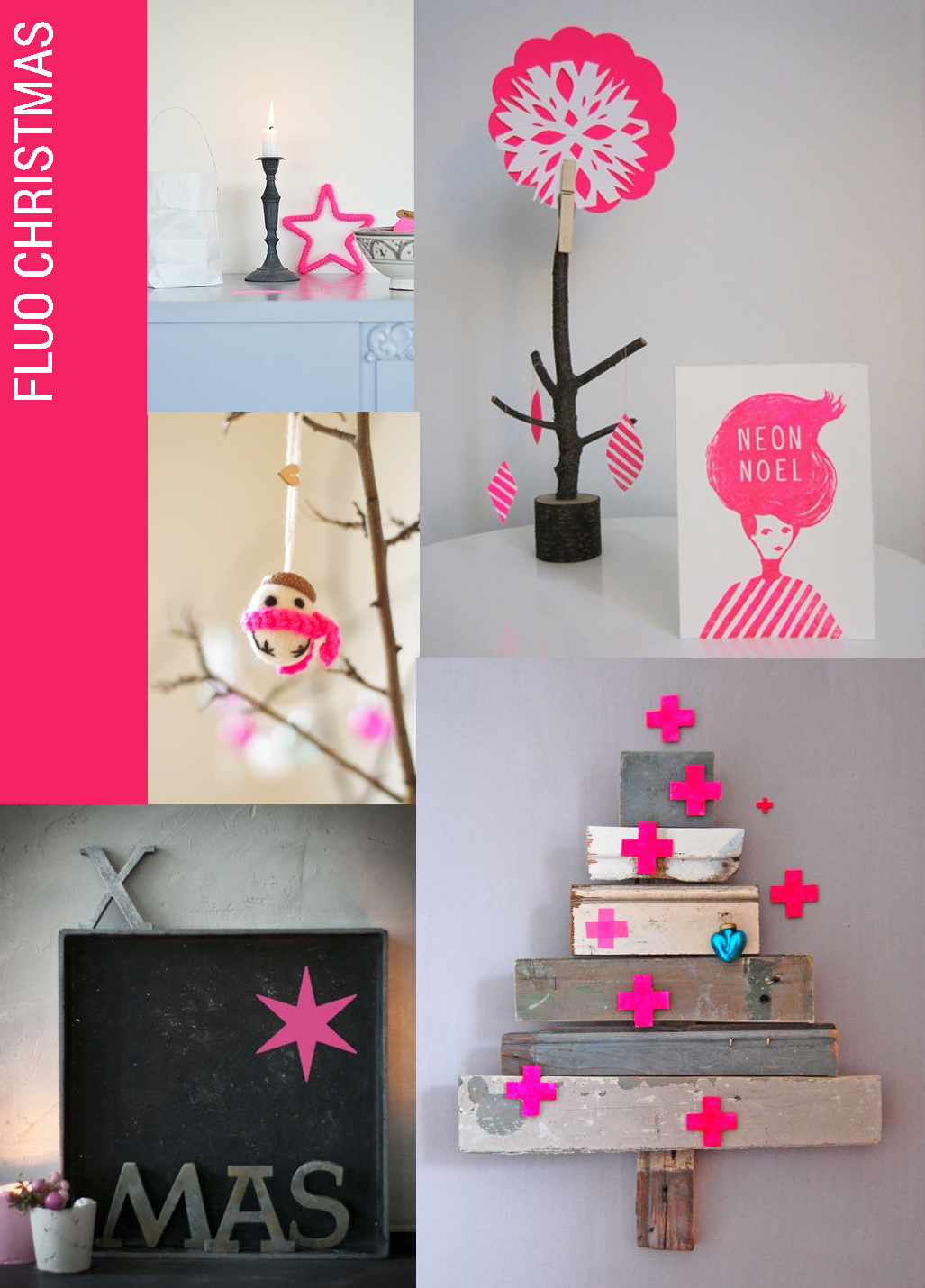 fluo neon christmas decorating trend, christmas home decor fluo, Christmas decor trends, fluo christmas