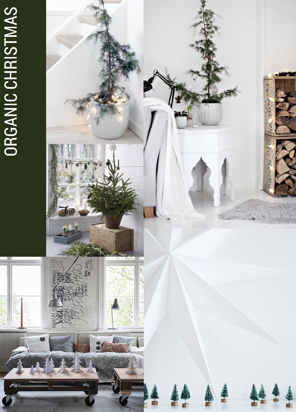 christmas decor trend organic, Christmas decor trends, organic christmas decor