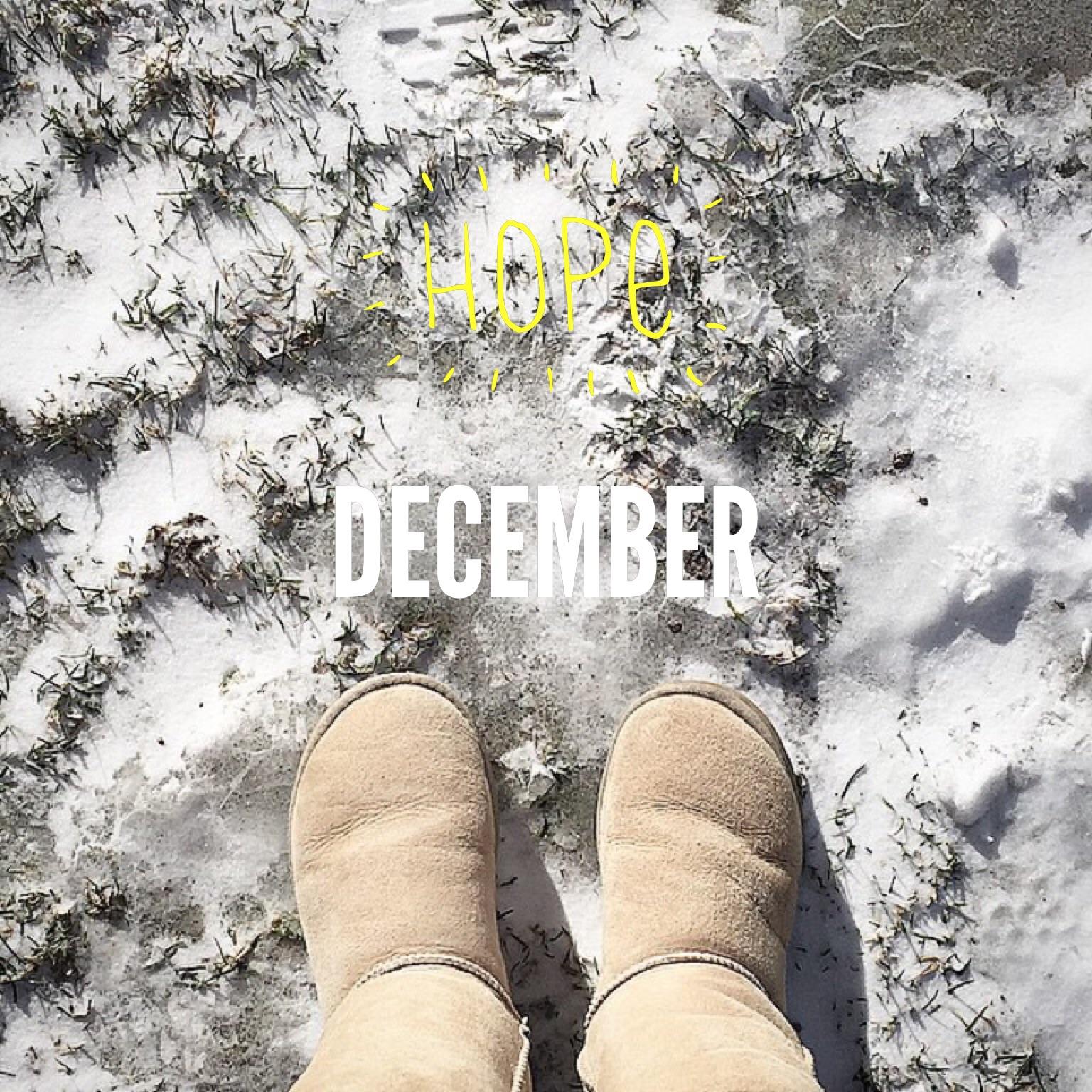 December inspirations, december
