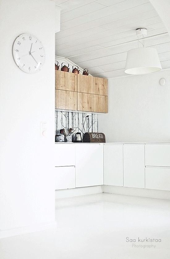 white kitchen, december inspirations, kitchen total white
