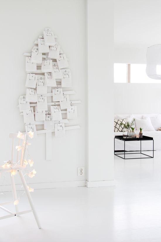 total white living room corner