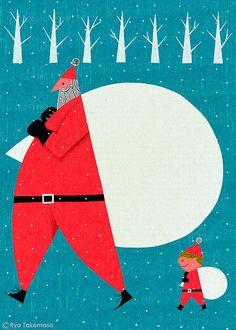 japanese illustrator ryo takemasa monthly inspirations