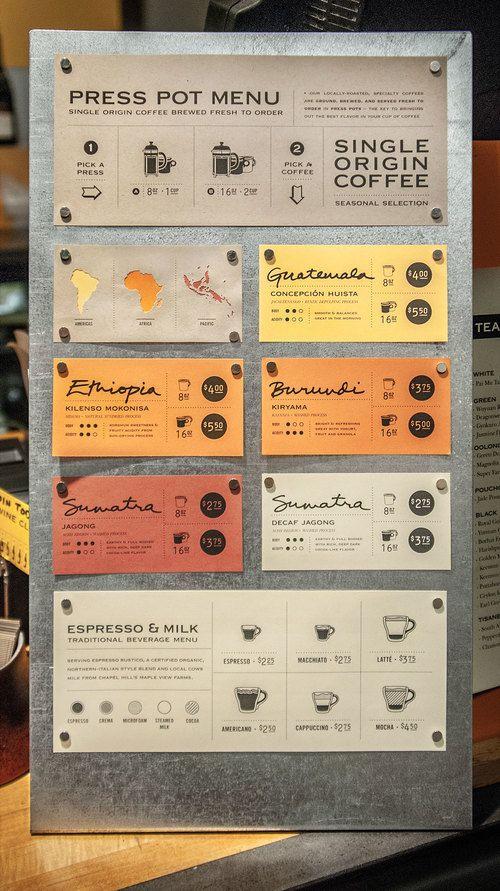 10+ original menu design ideas | ITALIANBARK