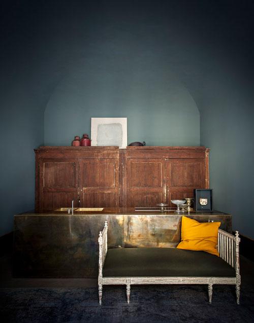 brass interior trend - dimore studios