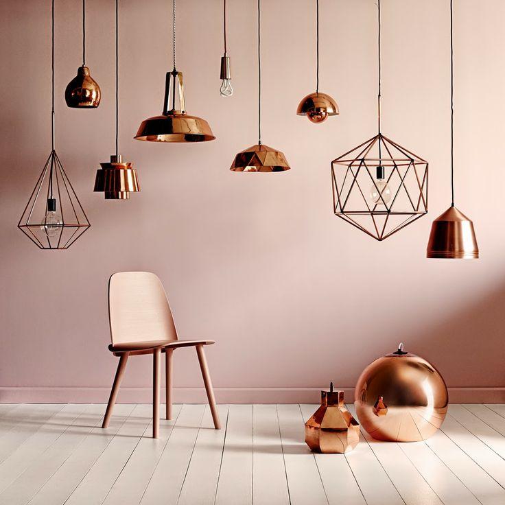 copper pink - best 2015 interior trends