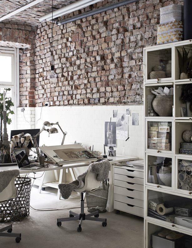 ecletic interior bricks 7