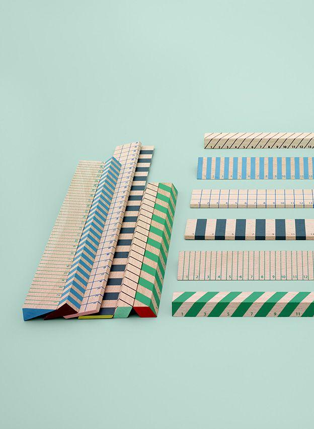 mint wooden rules Hay - italian bark interior design blog