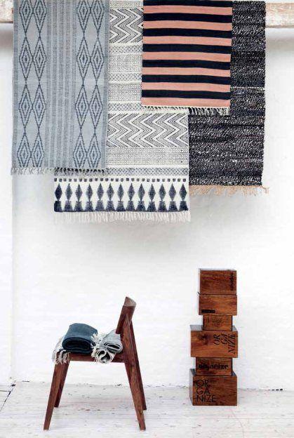 geometric interior trend - ethnic nordic