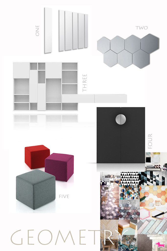 pianca geometric interior trend