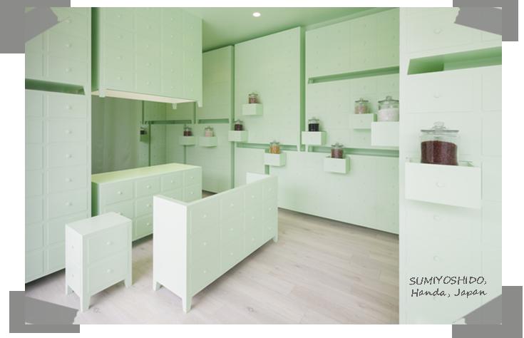 mint interior design - clinic japan