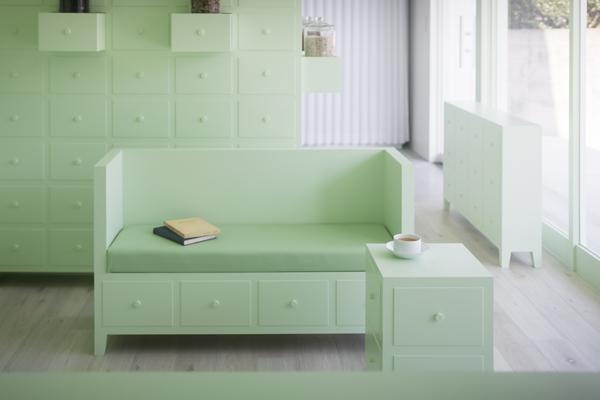 mint interior design
