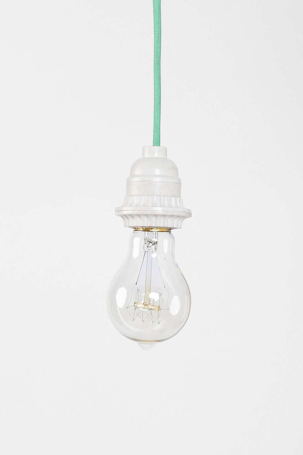 mint lamp bulb - @italianbark