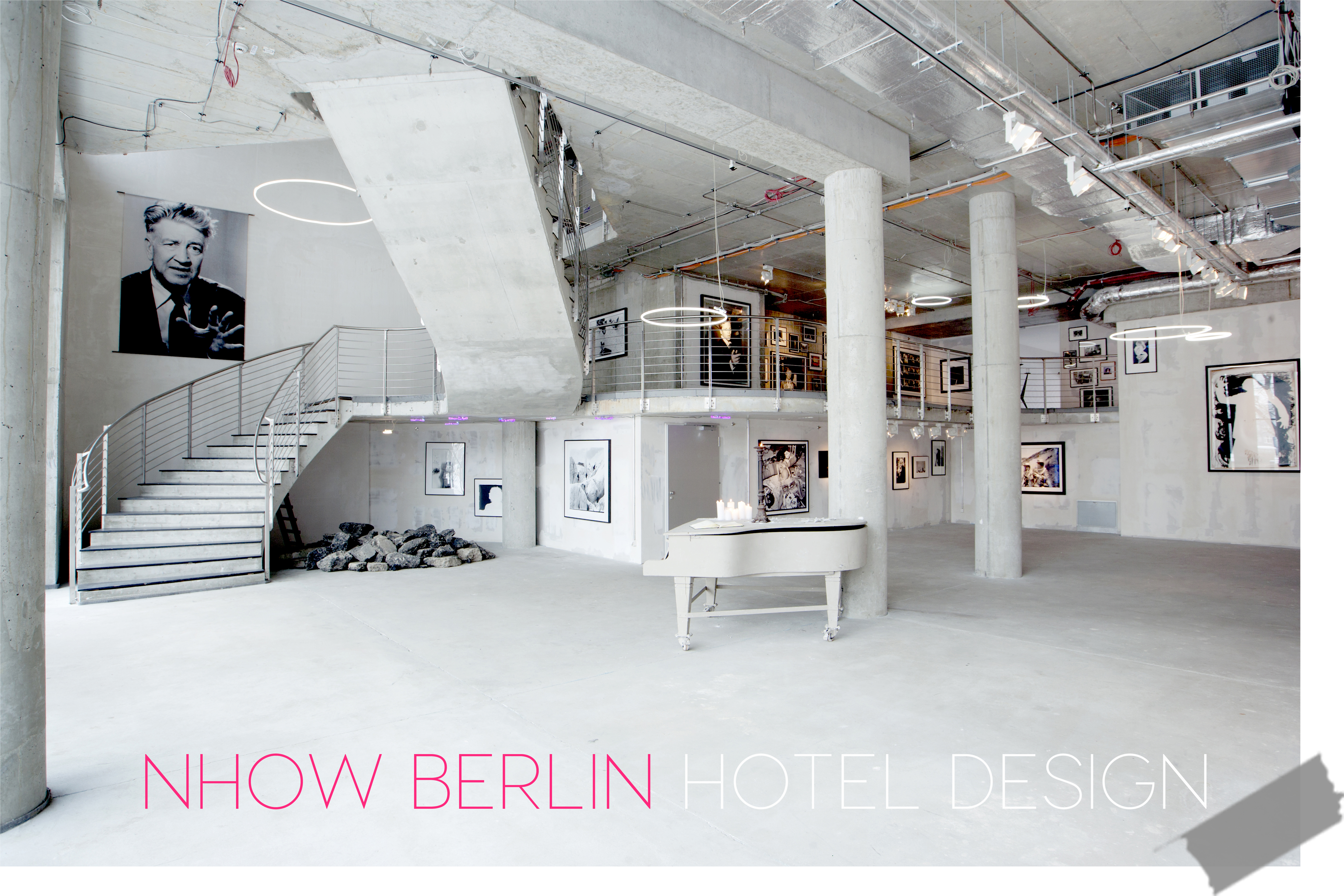 design hotels the music hotel and a pink dog nhow berlin italianbark. Black Bedroom Furniture Sets. Home Design Ideas