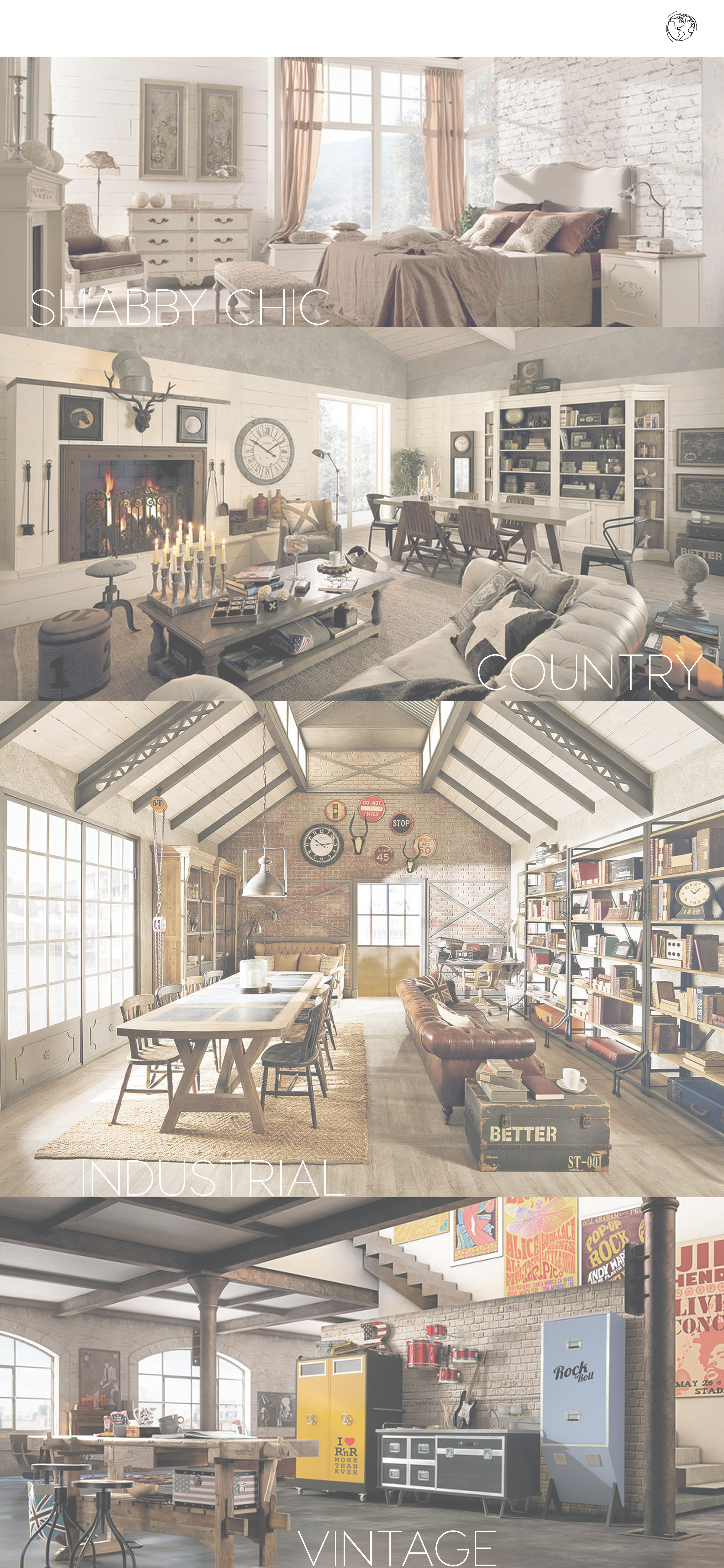 Travelling through interior styles with Dialma Brown: did you ever ...