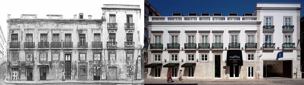 inspira santa marta-design hotel lisbon-facade