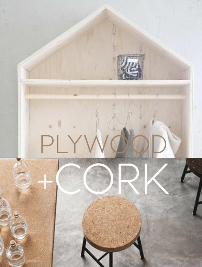 cork-plywood-interiortrend, cork plywood, plywood interior design, plywood interior, cork interior design
