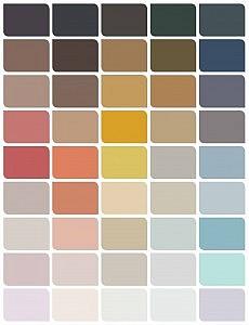 paletteoftheyear2016- dulux colour trend