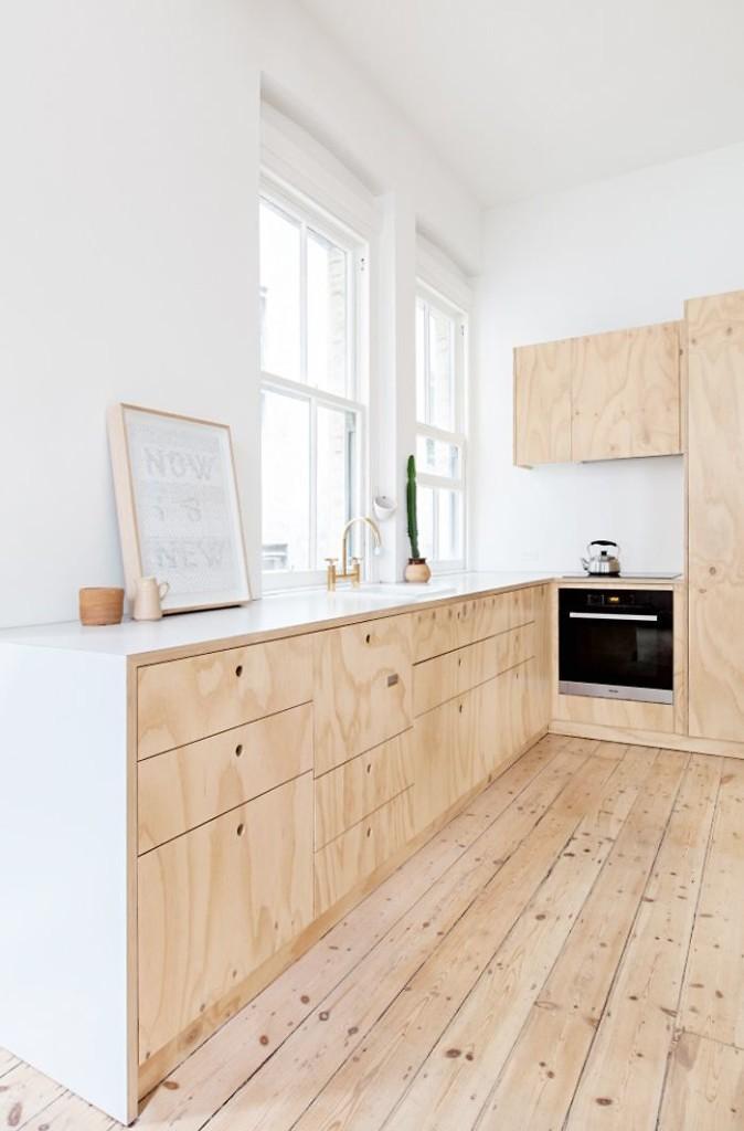plywood-interiortrend-plywoodkitchen, cork plywood, plywood interior design, plywood interior, cork interior design