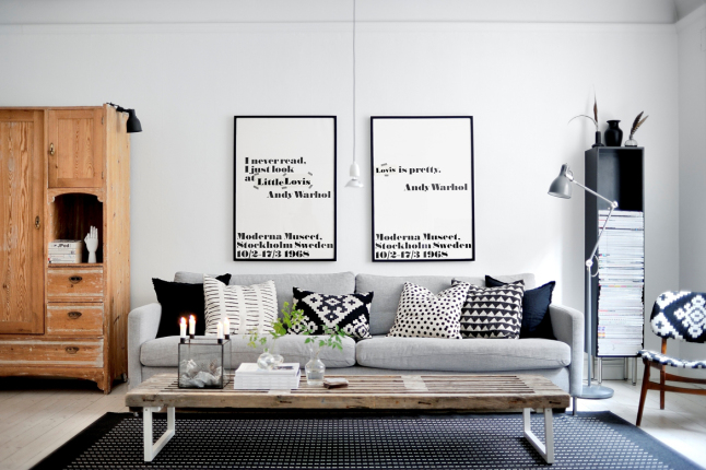 blackwhite-poster-decor-scandinavian-living