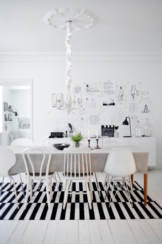 poster-decor-scandinavian-home- blackwhite living