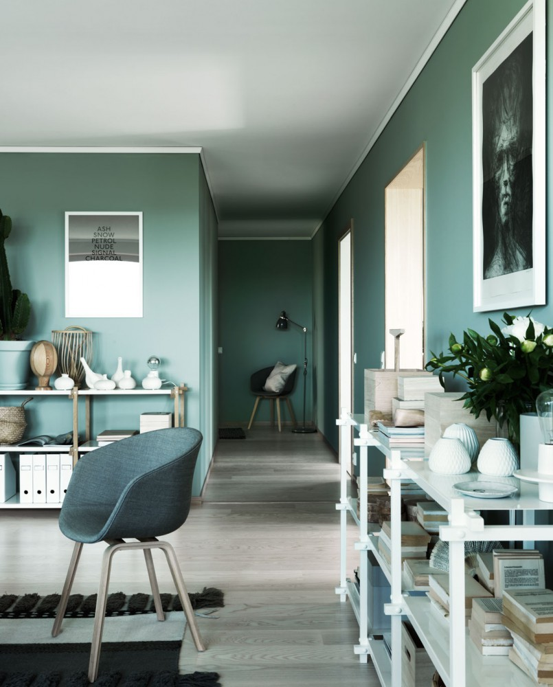 green wall paint green paint dark green wall green interior trend & Green wall paint | INTERIOR TREND | ITALIANBARK