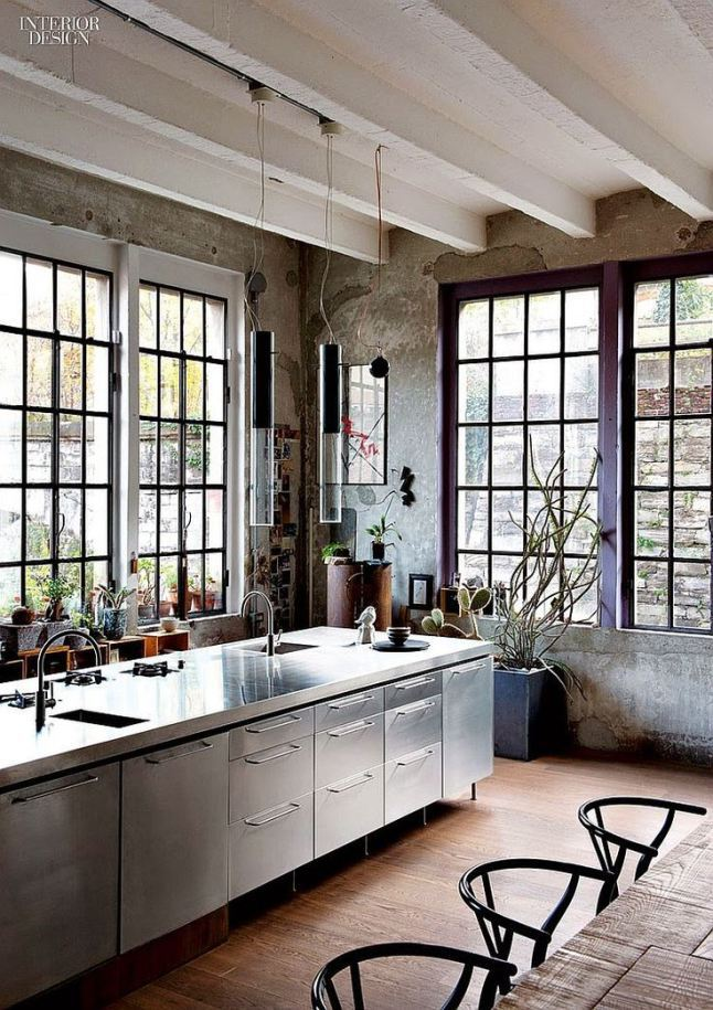 Wonderful Italian Kitchen Design Industrialloftmilan
