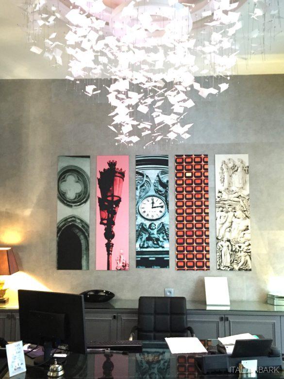 design hotel in Paris, le petit paris, boutique hotel Paris, , reception hall design