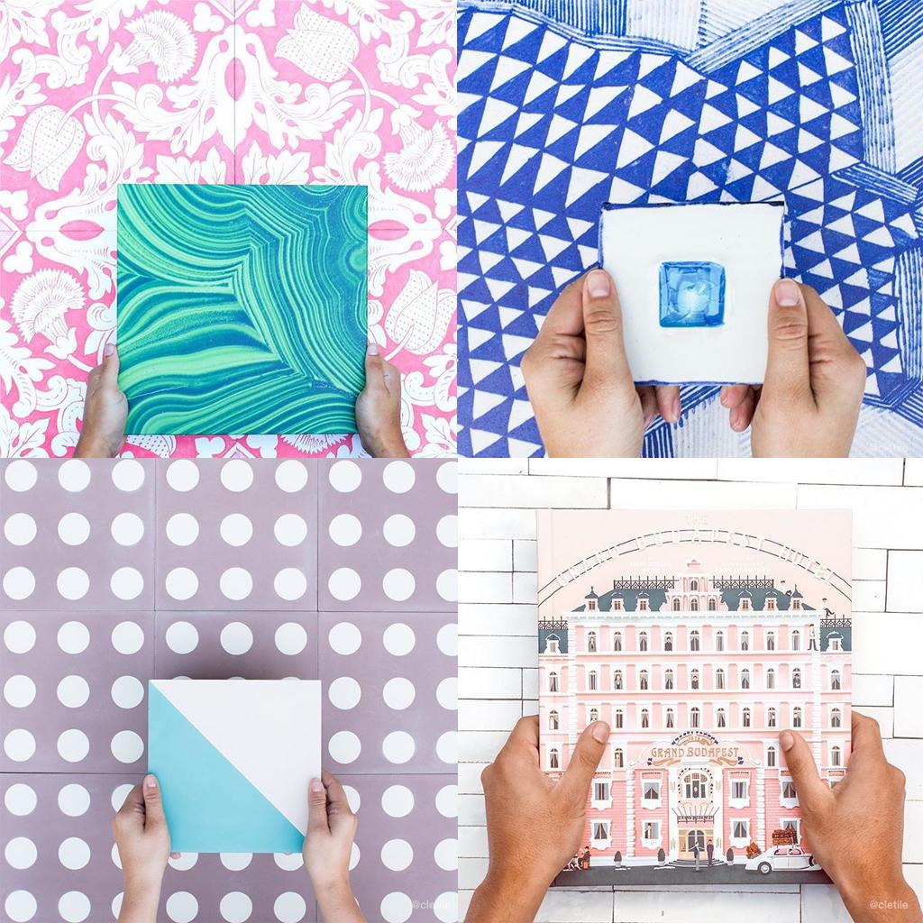 Instagram best design accounts, best instagram design,, cletile, tiles instagram