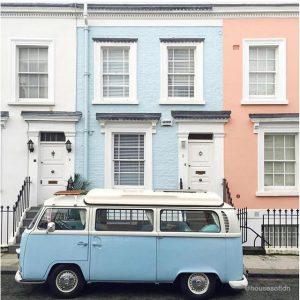 Instagram best design accounts, best instagram design, london houses