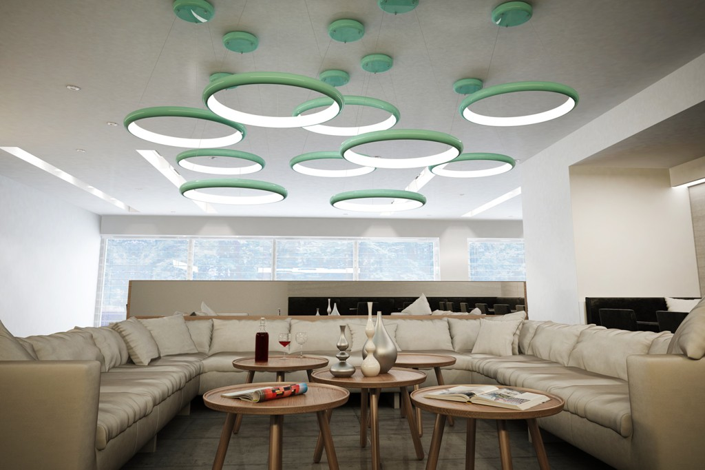 Radius Halo - Modern Living Room