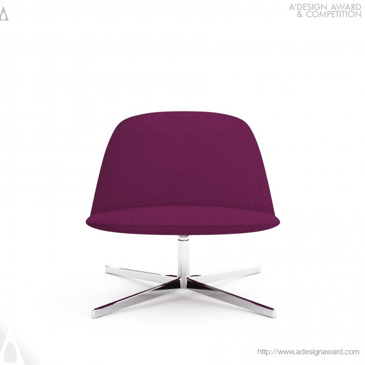 best italian design - a 'design award - chair design - italian chair - purple chair