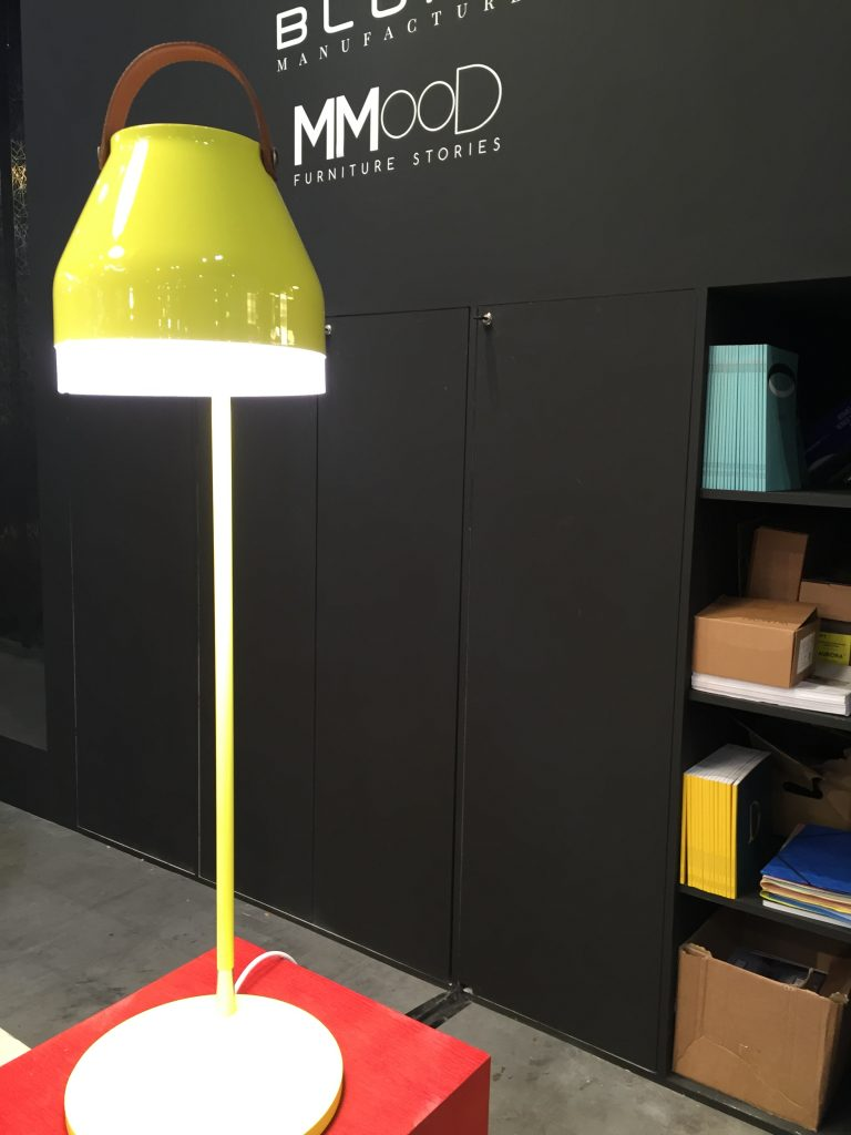 ilomio colourful lamps, led lighting design, office lighting design, maison et objet lighting
