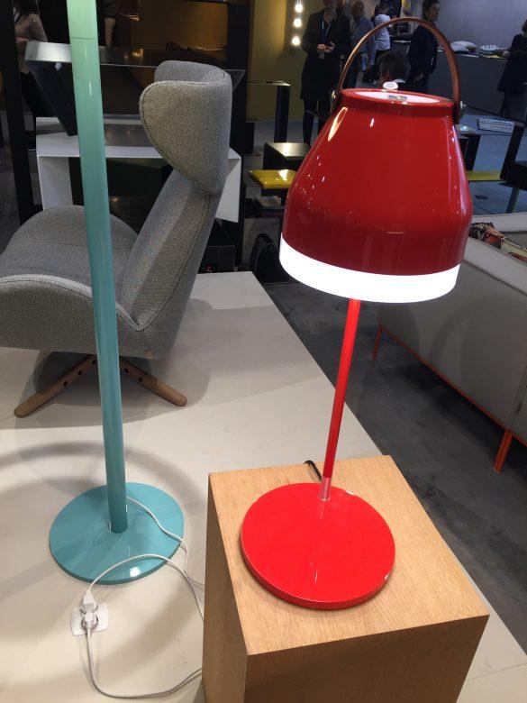 ilomio colourful lamps, led lighting design, office lighting design, maison et objet lighting