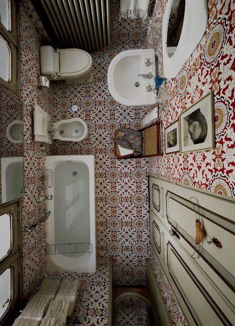 italian style interior, italian style, italian interiors, cementine, italian bathroom style, carlo mollino, decor tiles bathroom