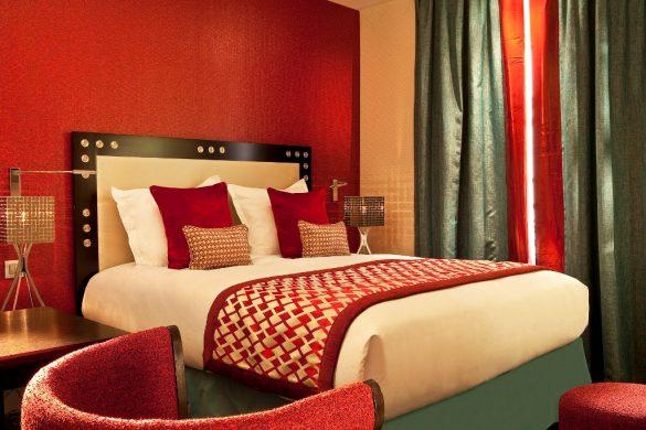 design hotel in Paris, le petit paris, boutique hotel Paris, hotel room design